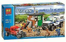 Конструктор Bela ''Полицейский отряд с собаками'' 250 деталей арт. 10419 (аналог LEGO City 60048)