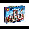 Конструктор BELA Cities Пожарная часть арт 10831   958 дет