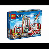 Конструктор BELA Cities Пожарная часть арт 10831   958 дет, фото 1