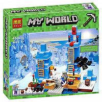 """Конструктор Bela  """"Ледяные шипы"""" Minecraft арт. 10621, фото 1"""