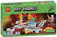 """Конструктор Bela 10620 """"Подземная железная дорога"""" Minecraft, фото 1"""