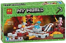 """Конструктор Bela 10620 """"Подземная железная дорога"""" Minecraft"""
