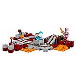 """Конструктор Bela 10620 """"Подземная железная дорога"""" Minecraft, фото 2"""