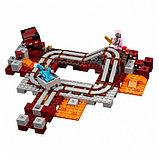 """Конструктор Bela 10620 """"Подземная железная дорога"""" Minecraft, фото 3"""