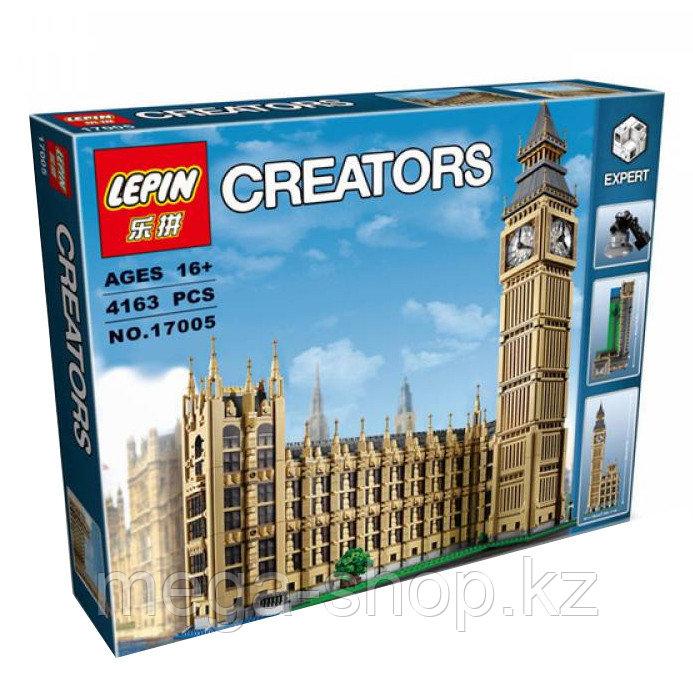 """Конструктор Creators """"Биг Бен"""" 4163 детали, Lele 30003 / LEPIN 17005 - фото 2"""