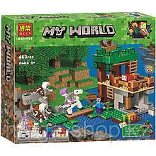 """Конструктор Bela 10989 Minecraft """"Нападение армии скелетов"""""""