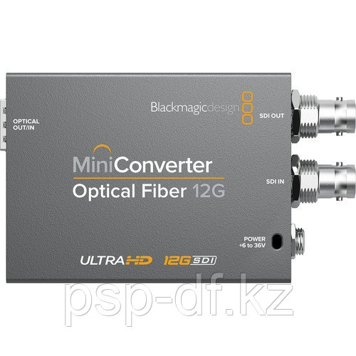 Конвертер Blackmagic Design Mini Optical Fiber 12G-SDI