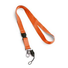 Ланьярд | Оранжевый | 15 х 520 мм.