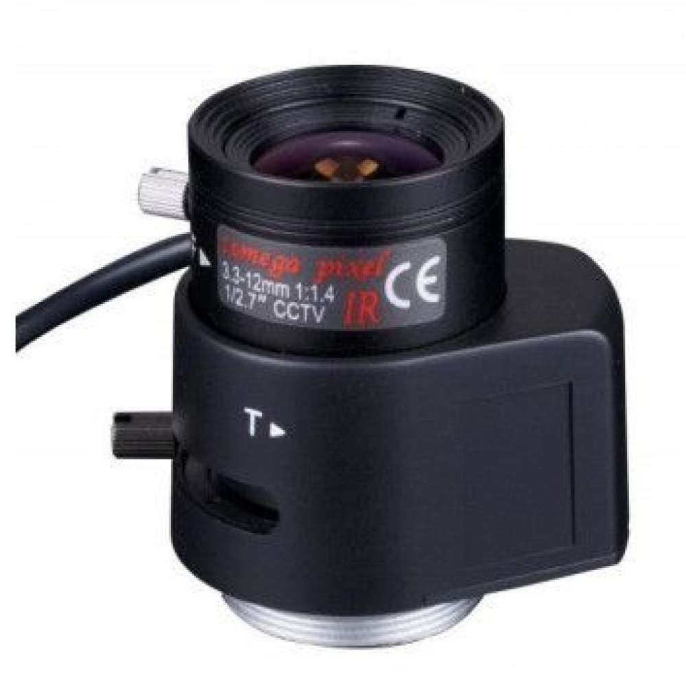 Ricom RV03312D.IR Варифокальный объектив 3.3-12мм. с АРД