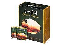 Чай Greenfield Golden Ceylon черный цейлонский, 100 пакетиков