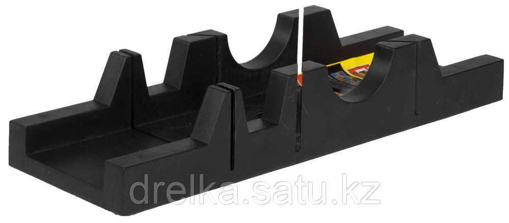 """Стусло STAYER """"STANDARD"""" пластмассовое, MIDI, для заготовок до 65х35мм."""
