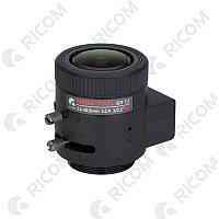 Ricom ТV 033105 D.IR-В-S  Варифокальный объектив 5Mp 3,3 -10.5 мм. с АРД