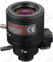 Ricom NV 0722 D.IR-В-S Варифокальный объектив 3 Mp 7-22 мм. с АРД