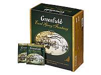 Чай Greenfield Earl Grey Fantasy черный с бергамотом, 100 пакетиков