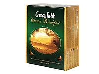 Чай Greenfield Classic Breakfast черный байховый, 100 пакетиков