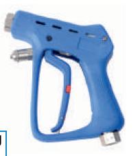 Пистолет для ЦСМ с задержкой выключения