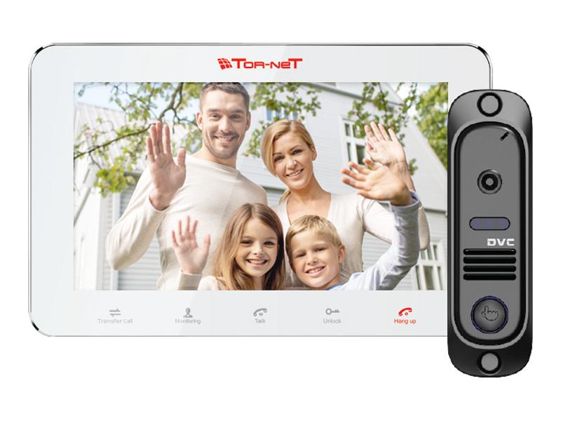 Комплект видеодомофона TR-29M W,DVC-414SI