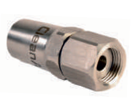 Вращающийся наконечник из нержавеющей стали, внутренняя резьба ½'' для шлангов низкого давления