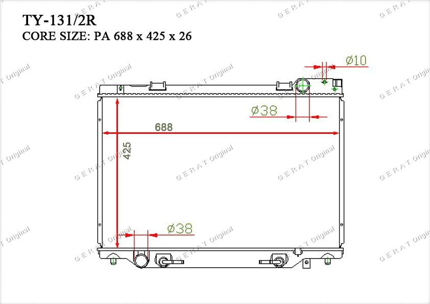 Радиатор основной 1640064680
