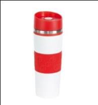 Термокружка Arabica 400 мл, Красный