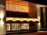 """Гирлянды светодиодные, новогодние, уличные LED гирлянда """"Шторки Занавес"""" 3*0,5 метра, фото 4"""