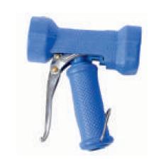 Пластмассовый пистолет в резиновой защите