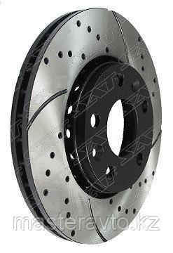 Комплект дисков тормозных передний перфорированные RENAULT DUSTER 10-,KAPTUR 17-,FLUENCE 09-NEW