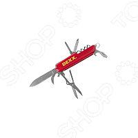 Нож DEXX складной многофункциональный, пластиковая рукоятка, 10 функций, фото 1