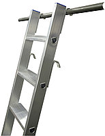 Приставная лестница STABILO 8 ступ., пара крюков