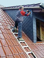 Лестница алюминий/дерево для крыши, 8 перекладин