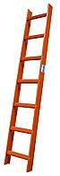 Стационарная лестница для крыши, красн. 14 ступ.