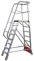 Лестница с платформой VARIO Kompakt, траверса 2000 12 ступ.