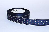 Декоративная лента для одежды, морская тематика, синяя