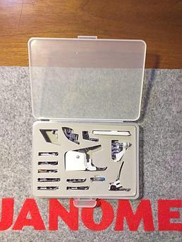 Набор лапок 15 шт для швейных машин Janome Elna Janome Merrylock