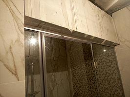 Паровая комната (хамам) в квартире. Размер = 1,0 х 1,5 х 2,3 м. Адрес: г. Алматы, ул. Бухар Жырау 22. 3