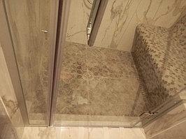 Паровая комната (хамам) в квартире. Размер = 1,0 х 1,5 х 2,3 м. Адрес: г. Алматы, ул. Бухар Жырау 22. 4