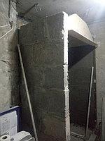 Паровая комната (хамам) в квартире. Размер = 1,0 х 1,5 х 2,3 м. Адрес: г. Алматы, ул. Бухар Жырау 22. 32