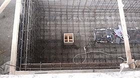 Скиммерный бассейн. Размер = 12 х 1,8 х 1,7 м. Адрес: г. Алматы, ул. Ладушкина. 15