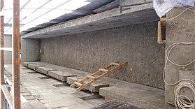 Скиммерный бассейн. Размер = 12 х 1,8 х 1,7 м. Адрес: г. Алматы, ул. Ладушкина. 22