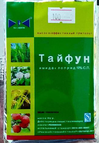 Тайфун. Имидаклоприд 10%. Инсектицид широкого спектра действия. 10г., фото 2
