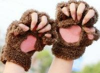 Варежки-перчатки Кошачьи лапки, Алматы