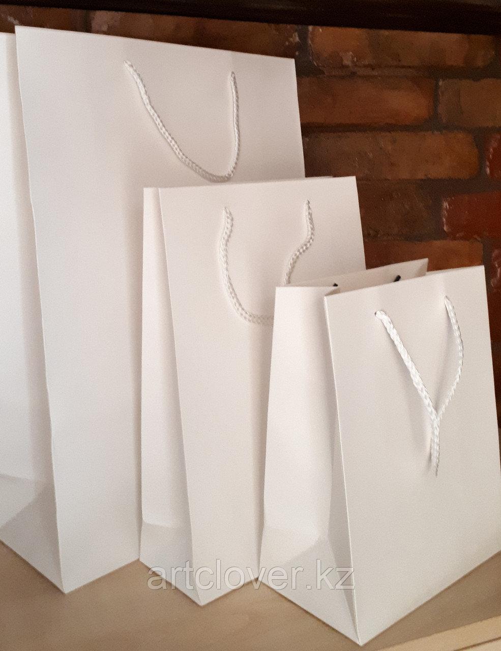 Бумажные пакеты белые А3 А4 А5 - фото 1