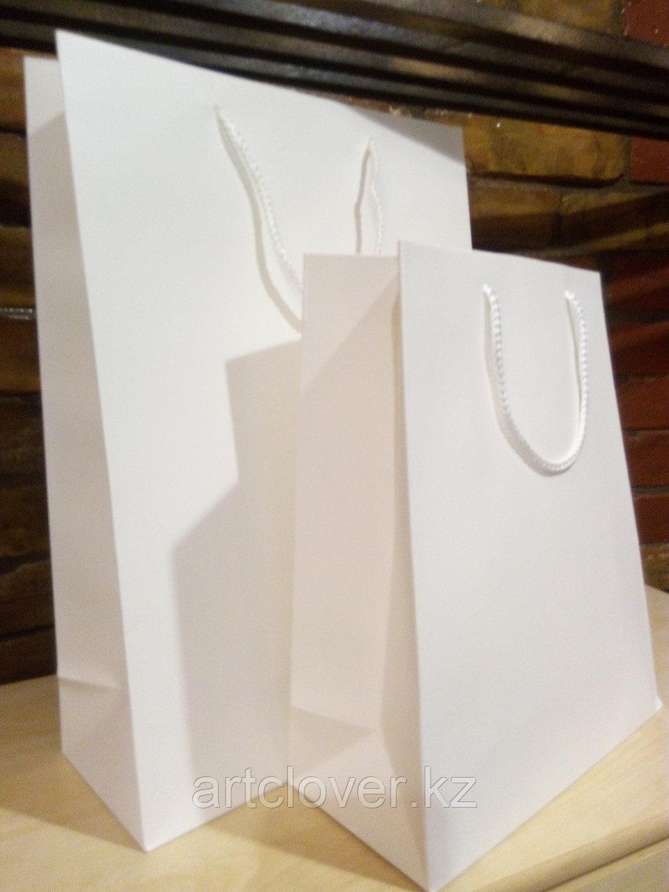 Бумажные пакеты белые А3 А4 А5 - фото 2