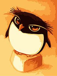 """Картинки по номерам """"Пингвиненок"""""""