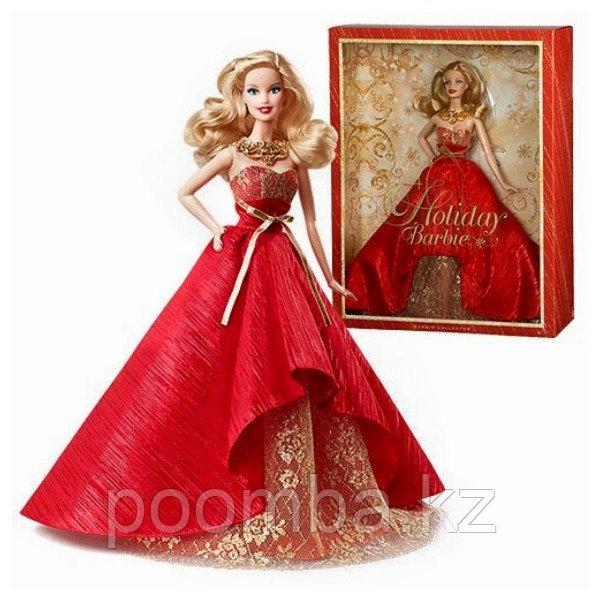 Коллекционная праздничная кукла Барби