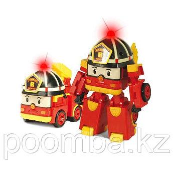Рой трансформер с подсветкой Robocar Poli