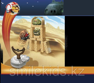 Игра Angry Birds Star Wars Jenga Сражение