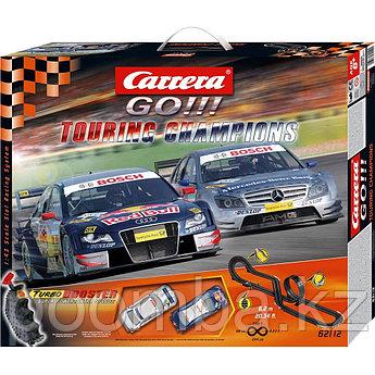Автотрек Touring Champions GO!!! с двумя машинками  Carrera