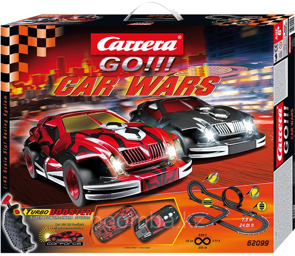 Гоночная трасса Каррера Go 'Car Wars'