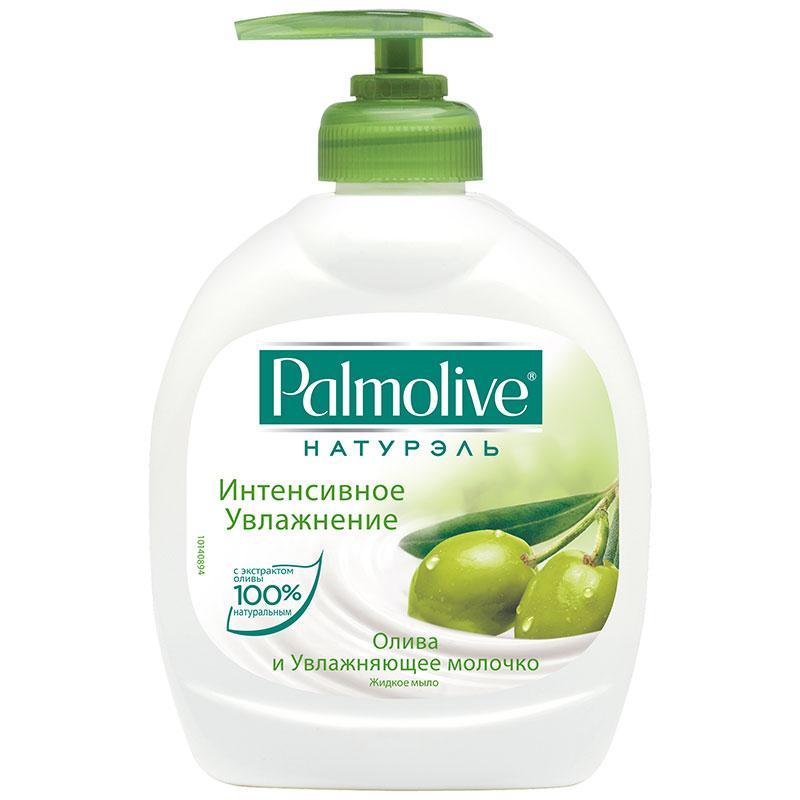 Жидкое мыло Palmolive с экстрактом оливы и увлажняющим  молочком, 300мл
